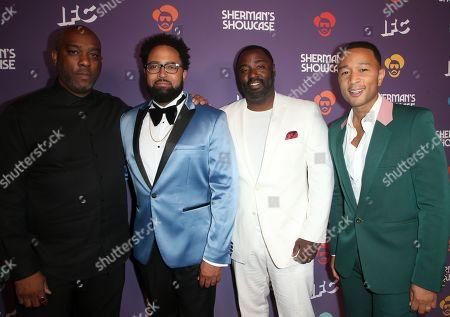 Stock Image of Mike Jackson, Diallo Riddle, Bashir Salahuddin, John Legend