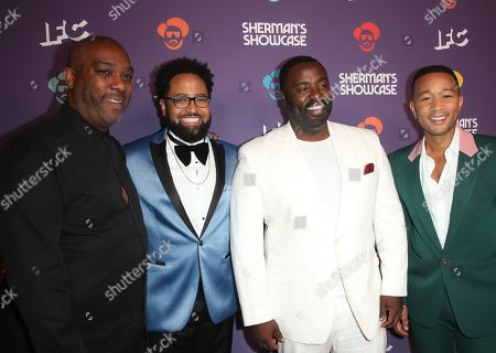 Mike Jackson, Diallo Riddle, Bashir Salahuddin, John Legend