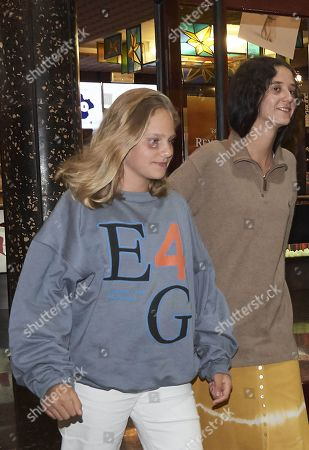 Editorial image of Former Queen Sofia of Spain and granddaughters out and about, Palma, Spain - 30 Jul 2019