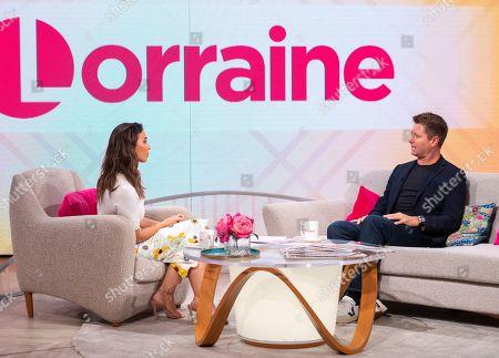 Editorial image of 'Lorraine' TV show, London, UK - 31 Jul 2019