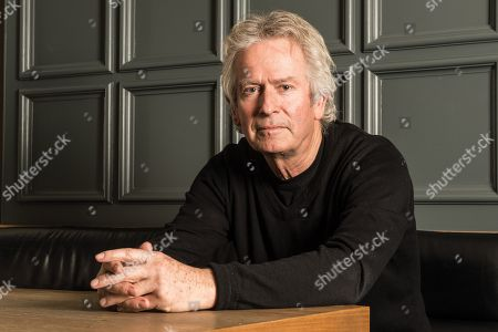 Surrey United Kingdom - January 12: Portrait Of English Musician Tony Banks Keyboardist And Founding Member Of Progressive Rock Group Genesis