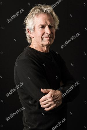 Stock Picture of Surrey United Kingdom - January 12: Portrait Of English Musician Tony Banks Keyboardist And Founding Member Of Progressive Rock Group Genesis