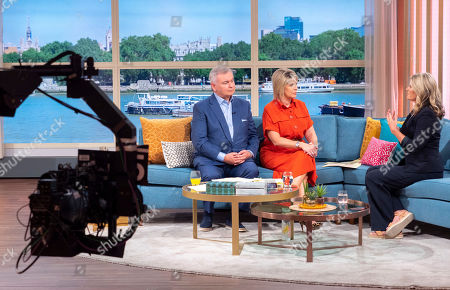 Eamonn Holmes and Ruth Langsford with Susannah Constantine