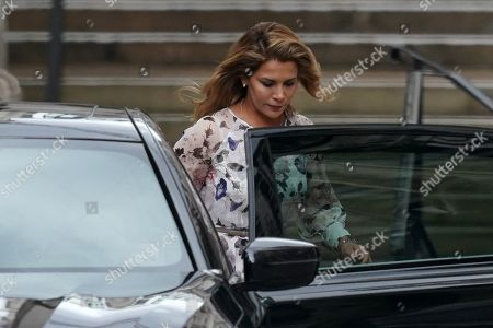 Princess Haya bint Al Hussein leaves the High Court in Central London, Britain, 31 July 2019. Princess Haya bint Al Hussein, the estranged wife of Dubai ruler, Sheikh Mohammed bin Rashid Al Maktoum, is seeking a protection order in Britain. She reportedly fled to the UK from UAE earlier this year with her two children.
