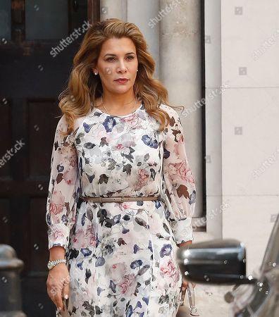 Princess Haya bint Al Hussein High Court Stock Photos (Exclusive
