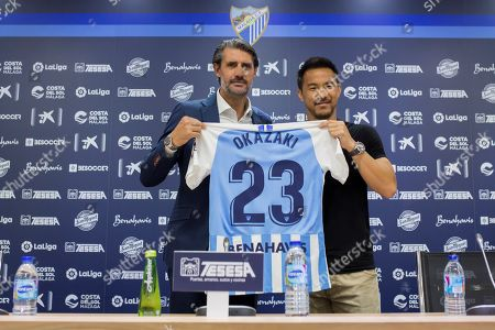 Editorial photo of Japanese forward Shinji Okazaki presentation with Malaga CF, Spain - 31 Jul 2019