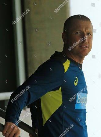 BIRMINGHAM, ENGLAND. 31 JULY Australian wicketkeeping coach Brad Haddin before the Specsavers Ashes first test match at Edgbaston Cricket Ground, Birmingham