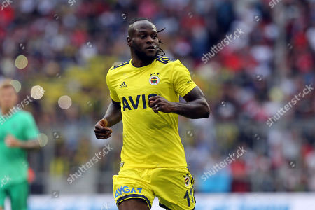 Stock Image of Victor Moses of Fenerbahce  during Real Madrid vs Fenerbahce, Audi Cup Football at the Allianz Arena on 31st July 2019