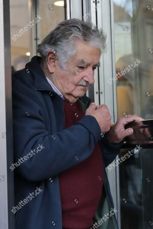 Former Uruguayan President Jose Mujica attends the funeral of Maria Auxiliadora Delgado, wife of Uruguayan President Tabare Vazquez, at the Martinelli Funeral Parlor, in Montevideo, Uruguay, 31 July 2019. Delgado passed away early on the same day due to a heart attack and her remains will be buried at La Teja cemetery.