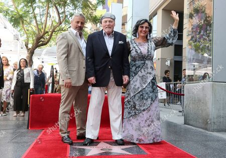 Matt LeBlanc, Stacy Keach, Malgosia Tomassi Keach. Matt LeBlanc, from left, Stacy Keach and Malgosia Tomassi Keach pose atop a star at a ceremony honoring Stacy Keach with a star at the Hollywood Walk of Fame, in Los Angeles
