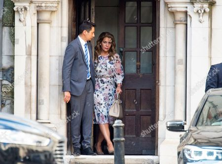 Editorial picture of Princess Haya Bint Al Hussein leaving the High Court, London, UK - 31 Jul 2019