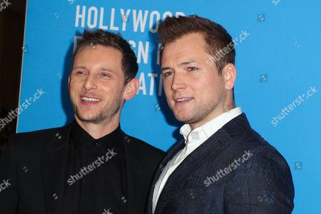 Jamie Bell and Taron Egerton