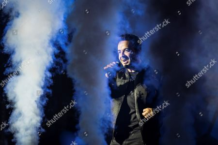 Puerto Rico's singer Luis Fonsi performs on stage during his Cap Roig Festival concert played at Calella de Palafrugell's Botanical Garden in Girona, Catalonia, Spain, 31 July 2019.