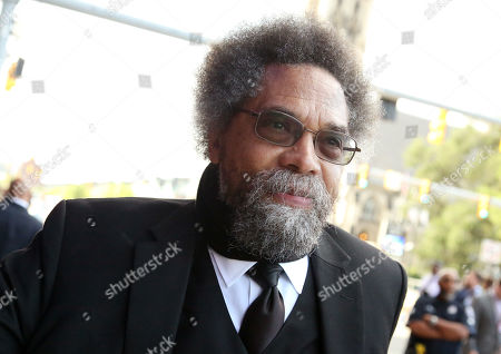 Stock Image of Dr. Cornel West