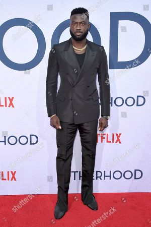"Sinqua Walls attends a special screening of ""Otherhood"" at the Egyptian Theatre Hollywood, in Los Angeles"