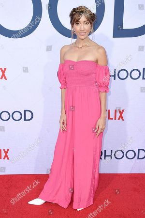 "Fernanda Romero attends a special screening of ""Otherhood"" at the Egyptian Theatre Hollywood, in Los Angeles"