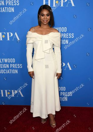 Regina Hall arrives at the 2019 Hollywood Foreign Press Association's Annual Grants Banquet at the Beverly Wilshire Beverly Hills on