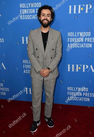 Stock Picture of Ramy Youssef arrives at the 2019 Hollywood Foreign Press Association's Annual Grants Banquet at the Beverly Wilshire Beverly Hills on