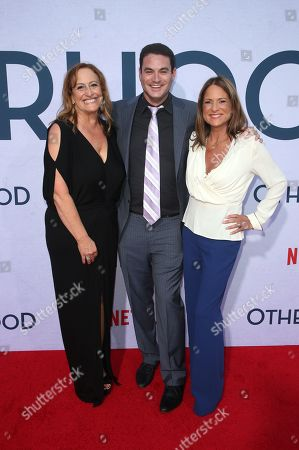 Stock Picture of Cindy Chupack, Jason Michael Berman and Cathy Schulman