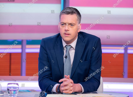Editorial picture of 'Good Morning Britain' TV show, London, UK - 01 Aug 2019