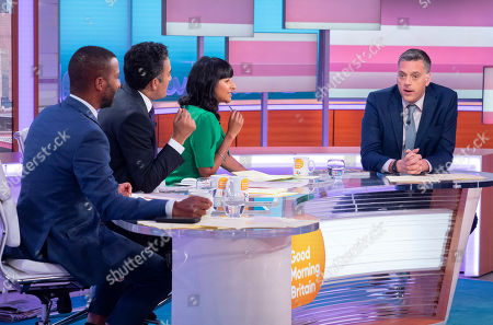 Editorial image of 'Good Morning Britain' TV show, London, UK - 01 Aug 2019