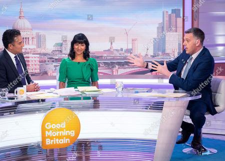 Editorial photo of 'Good Morning Britain' TV show, London, UK - 01 Aug 2019