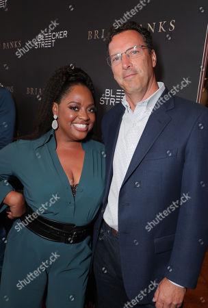 Stock Photo of Sherri Shepherd and Andrew Karpen - CEO, Bleecker Street