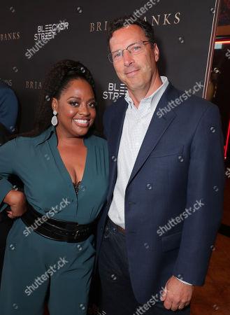 Sherri Shepherd and Andrew Karpen - CEO, Bleecker Street