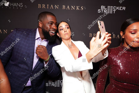 Brian Banks and Tiffany Dupont