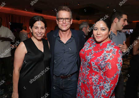 Stock Picture of Producer Amy Baer, Greg Kinnear and Producer Shivani Rawat