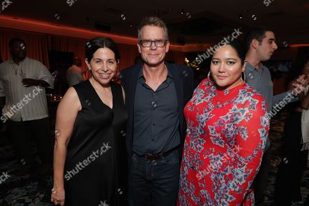Producer Amy Baer, Greg Kinnear and Producer Shivani Rawat