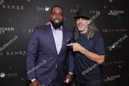 Brian Banks and Director Tom Shadyac