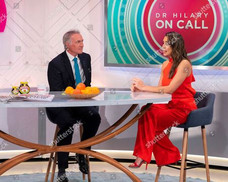 Christine Lampard and Dr Hilary Jones
