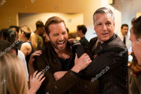 Stock Picture of Ryan Hansen as Dick Casablancas and David Starzyk as Richard Casablancas