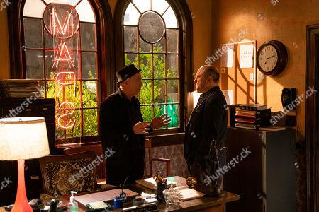 JK Simmons as Clyde Prickett and Enrico Colantoni as Keith Mars