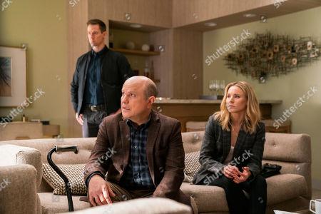 Jason Dohring as Logan Echolls, Enrico Colantoni as Keith Mars and Kristen Bell as Veronica Mars