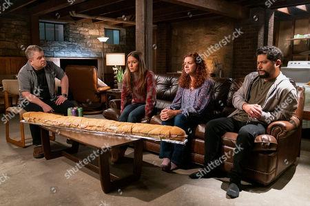 Patton Oswalt as Penn Epner and Izabela Vidovic as Matty Ross