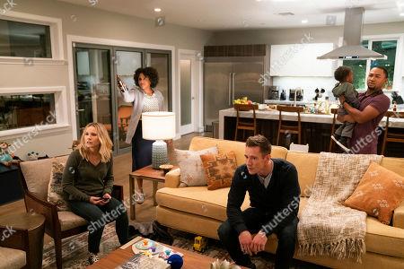 Kristen Bell as Veronica Mars, Kenna Wright as Shae, Jason Dohring as Logan Echolls and Percy Daggs III as Wallace Fennel