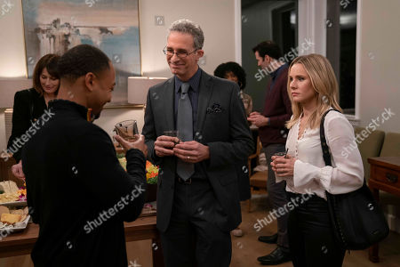 Stock Photo of Percy Daggs III as Wallace Fennel, Michael Albala as Executive and Kristen Bell as Veronica Mars
