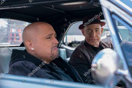 Francis Capra as Eli 'Weevil' Navarro and JK Simmons as Clyde Prickett
