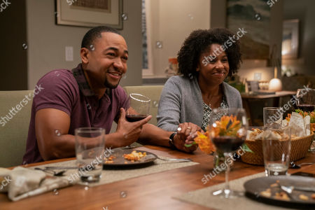 Percy Daggs III as Wallace Fennel and Kenna Wright as Shae