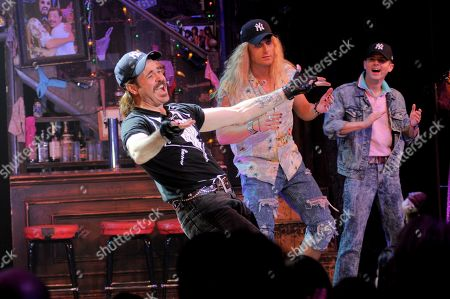 Editorial image of 'Rock of Ages' Yankees Night curtain call, New York, USA - 31 Jul 2019