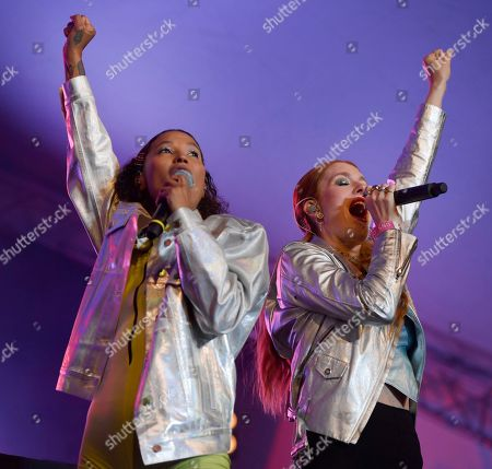 Icona Pop - Aino Jawo and Caroline Hjelt