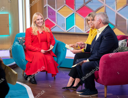 Eamonn Holmes and Ruth Langsford with Hayley Hasselhoff