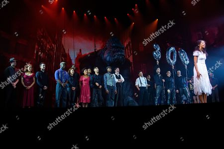 Editorial photo of 'King Kong' 300th Broadway performance celebration, New York, USA - 31 Jul 2019