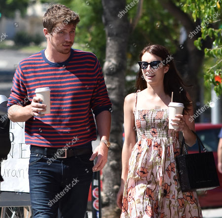 Editorial picture of Emma Roberts and Garrett Hedlund out and about, Los Angeles, USA - 31 Jul 2019