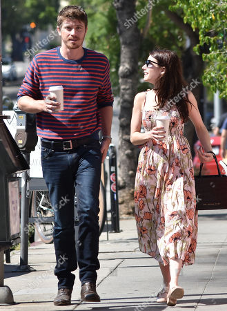 Editorial photo of Emma Roberts and Garrett Hedlund out and about, Los Angeles, USA - 31 Jul 2019