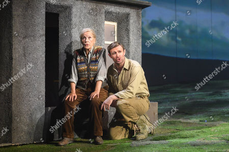 Ann Louise Ross who Agatha and James McArdle who plays Peter Gynt