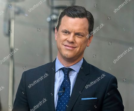 Willie Geist appears on NBC's Today show at Rockefeller Plaza, in New York