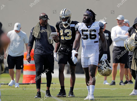 Editorial picture of Saints Football, Metairie, USA - 01 Aug 2019